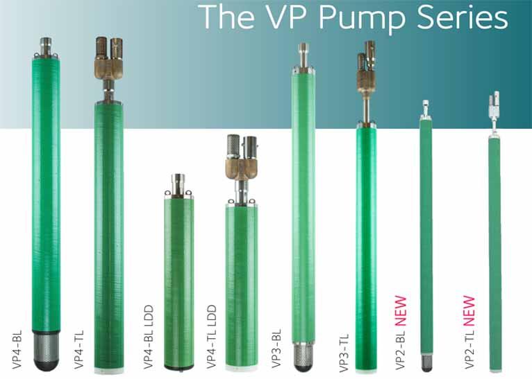 VP Pumps Range